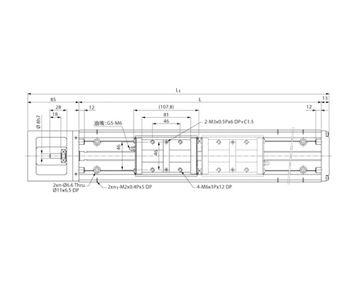 线性模组KM46(A、B型)