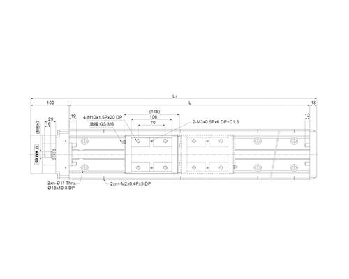 线性模组KM65(A、B型)