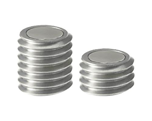 带座磁铁 (外螺纹、滚花型)