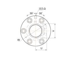 外循环管凸出型单螺帽滚珠丝杠FSVC