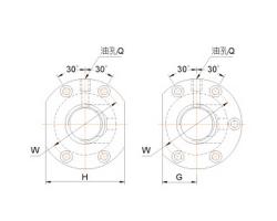 外循环偏位导程滚珠丝杠FOWC